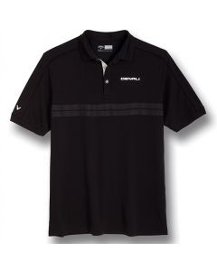 Callaway  Black Embossed Polo